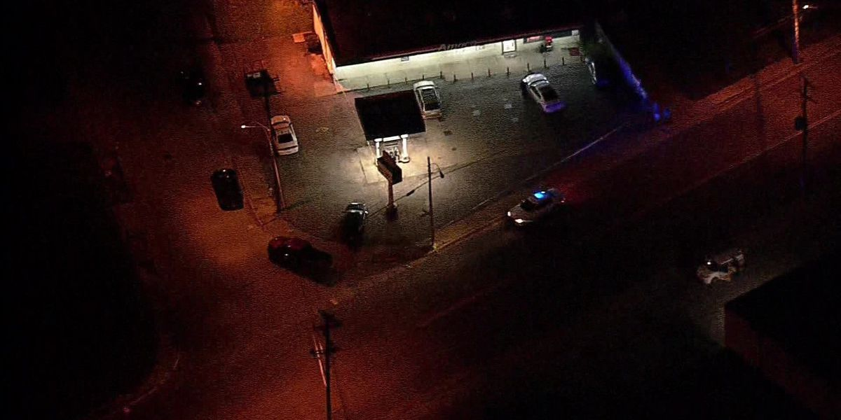 Man shot during attempted robbery; shooter on the loose