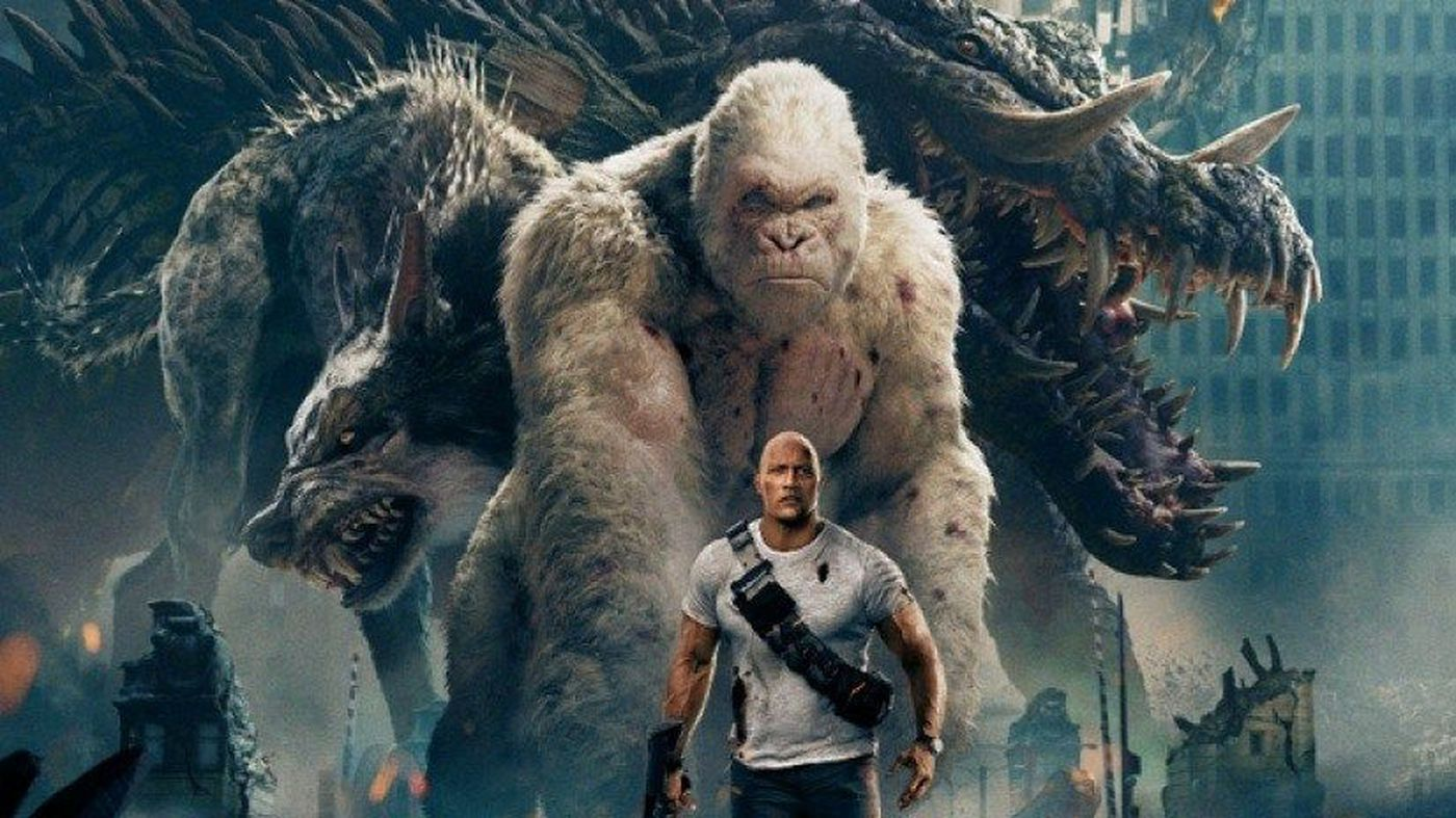 Memphis Actor Stars As Giant Gorilla In Rampage