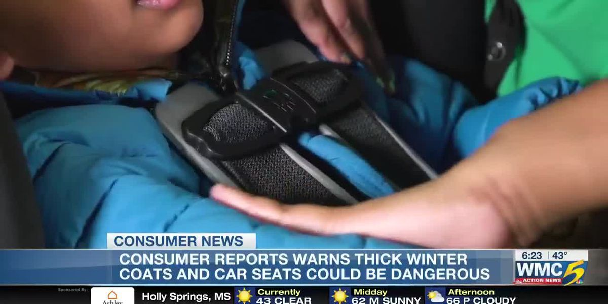 Consumer Reports winter warning: Coats and car seat safety
