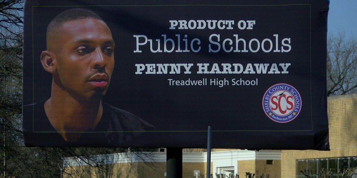 Penny Hardaway billboards go up around Memphis