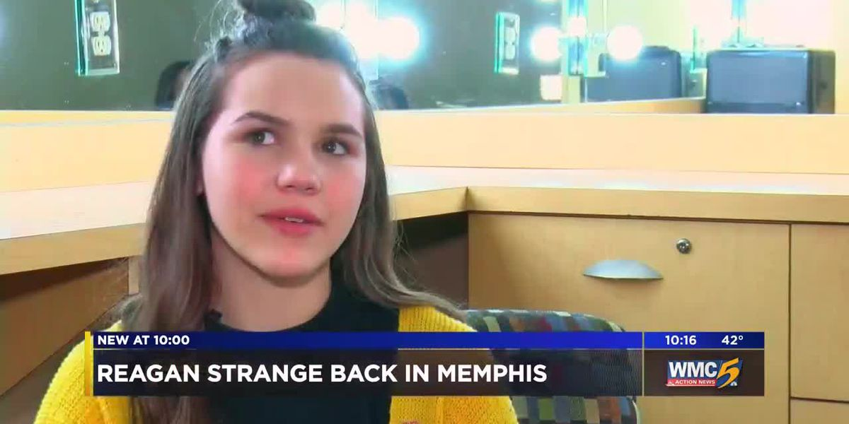 Reagan Strange returns to Memphis after long run on 'The Voice'