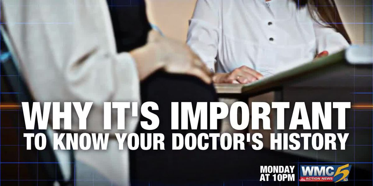 Does your doctor have a criminal history? Watch Monday at 10 on WMC