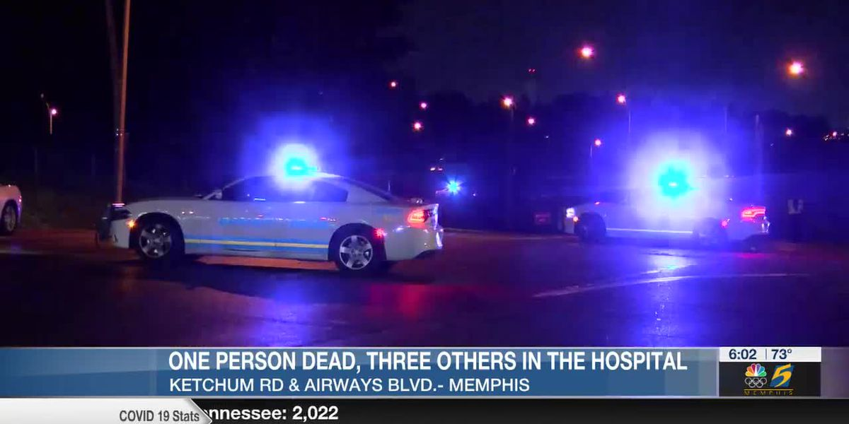 One person dead, three others injured in Memphis crash