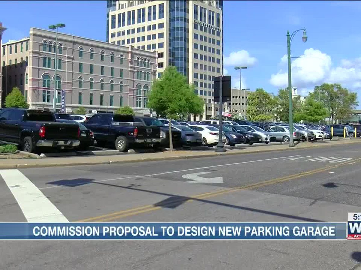 Downtown Memphis Commission plans for $500K downtown parking lot design