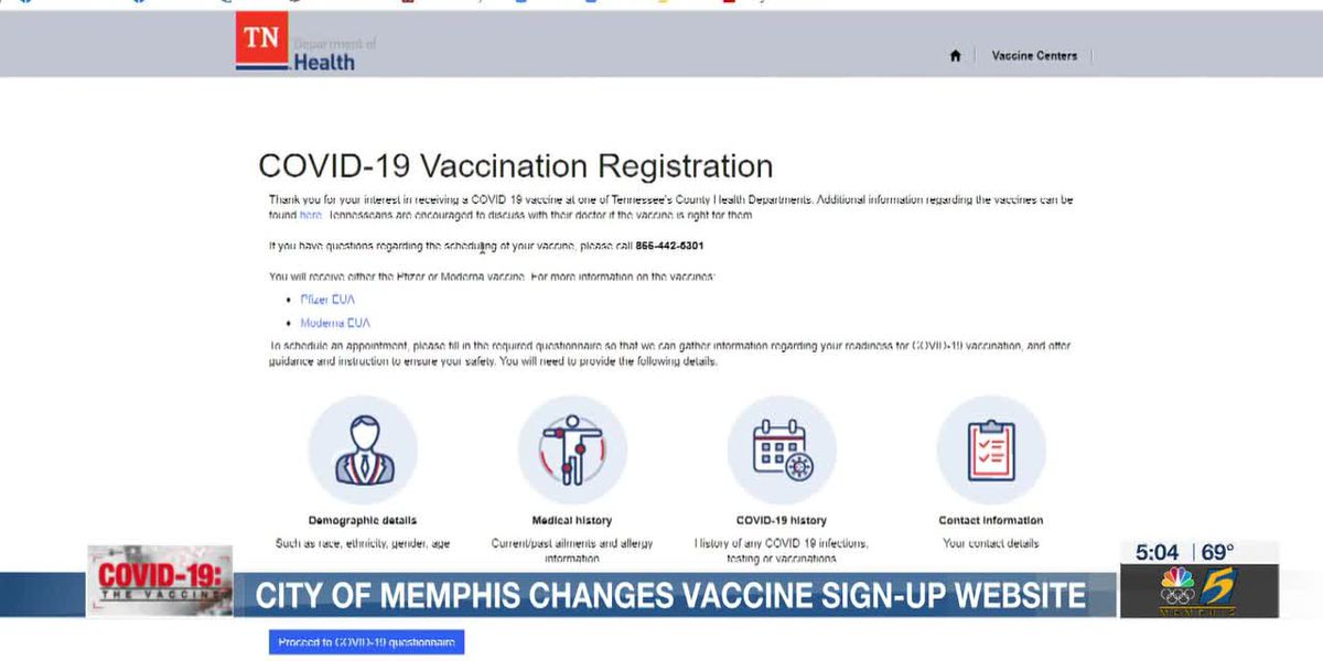 City of Memphis hosts vaccine pop up site to reach low uptake locations