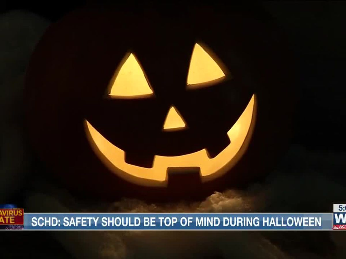 Health officials stress the importance of being safe during Halloween