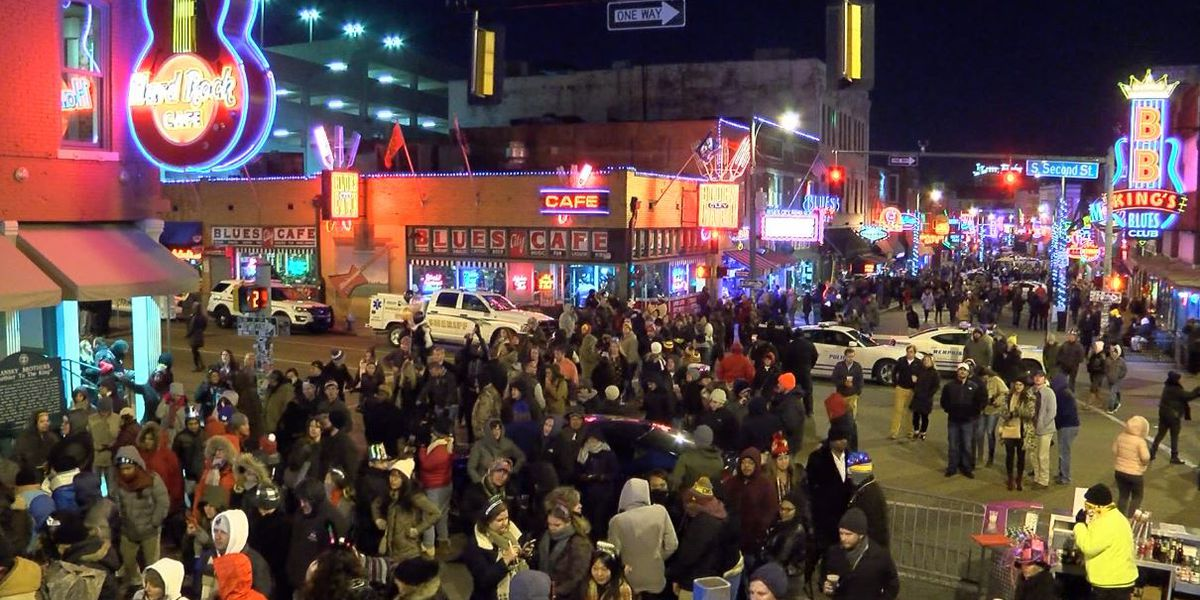 COVID-19 puts a damper on Beale Street New Year's Eve celebration