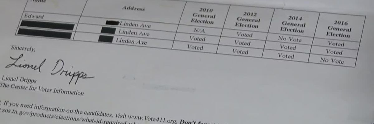 Mailer calls out neighbors for not voting