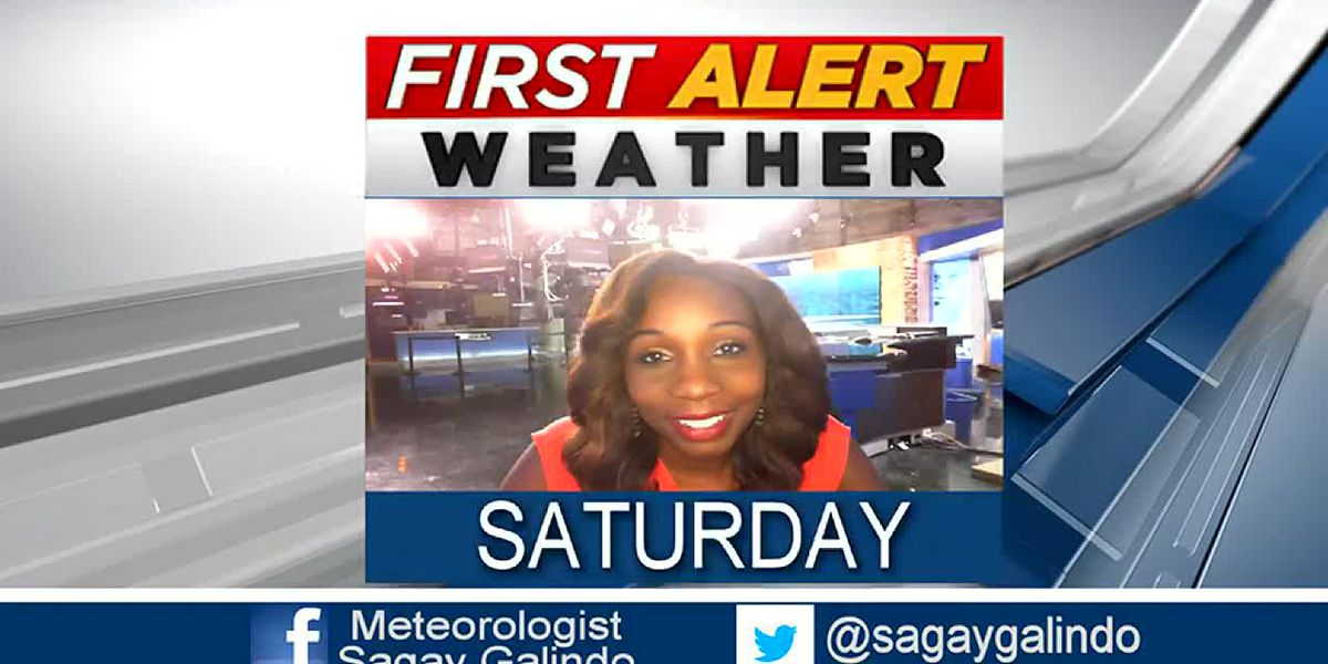 Saturday Evening Weather