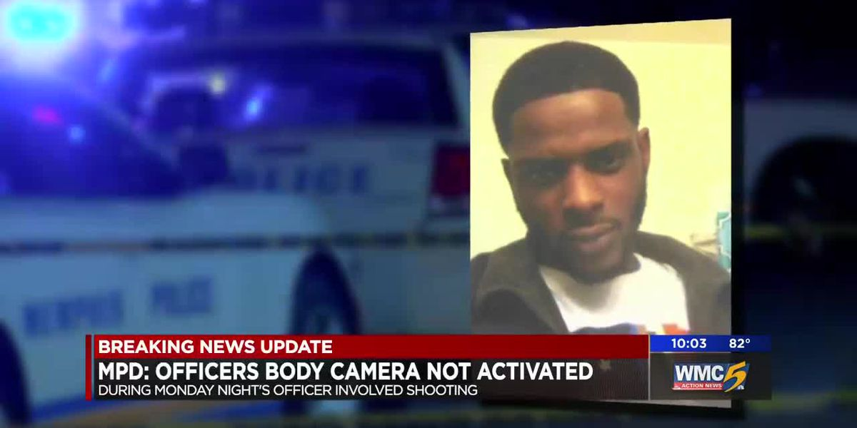 Officers' body cameras not activated during officer-involved shooting