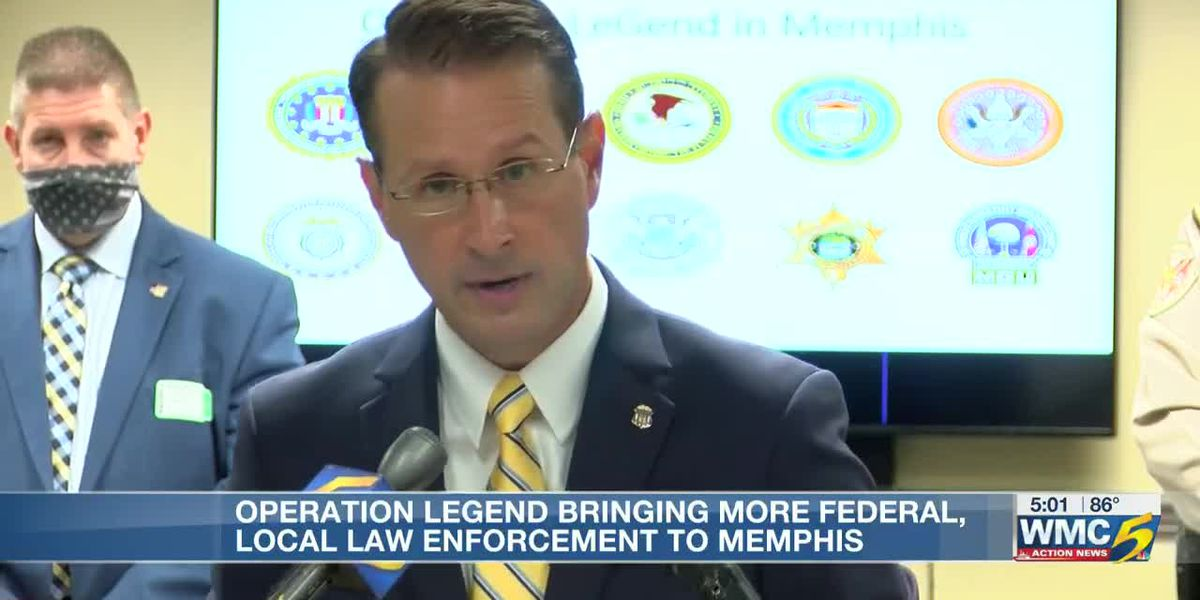 Operation LeGend bringing more federal, local law enforcement to Memphis
