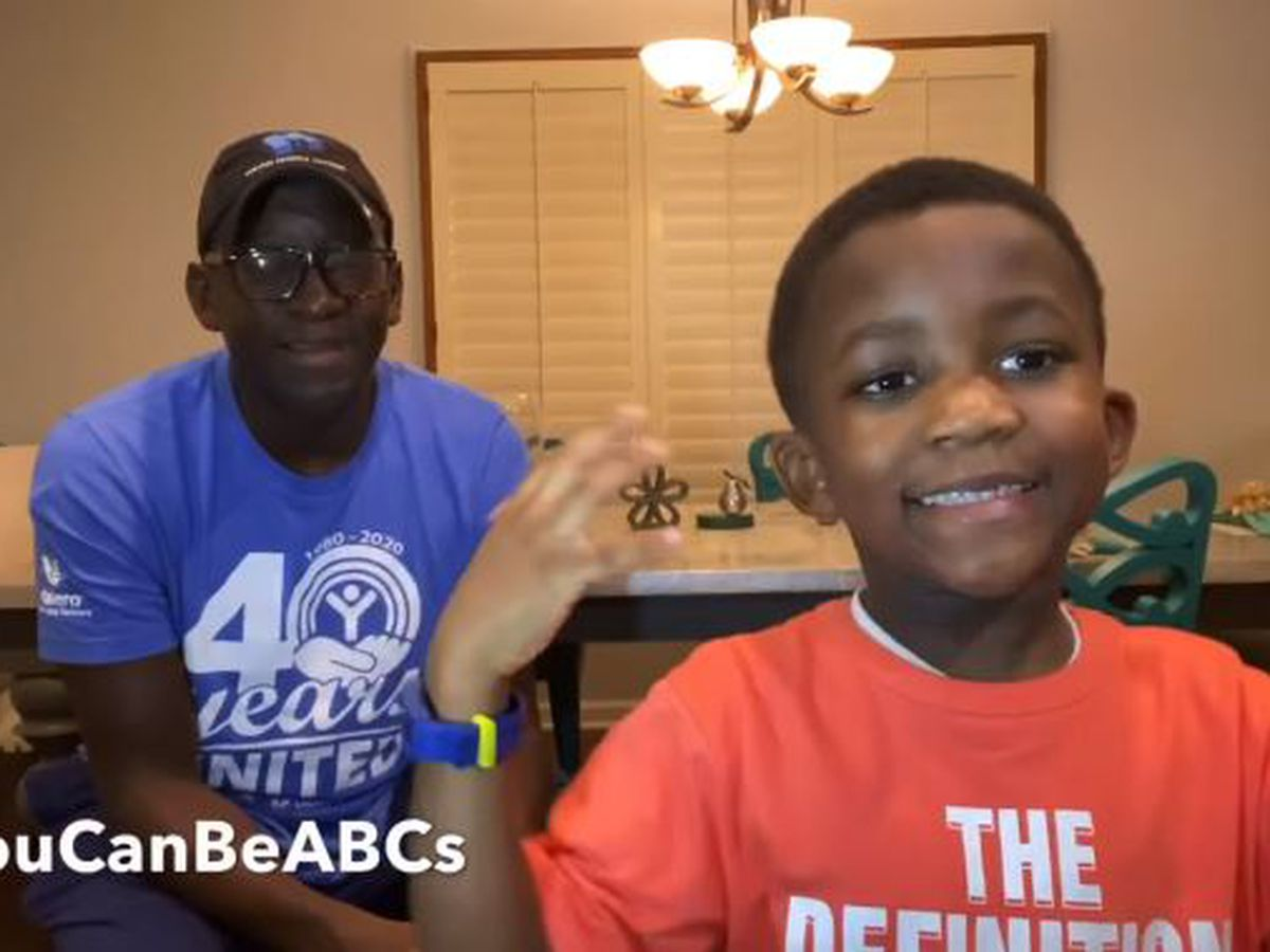 Memphis boy goes viral with inspiring twist on the classic ABCs