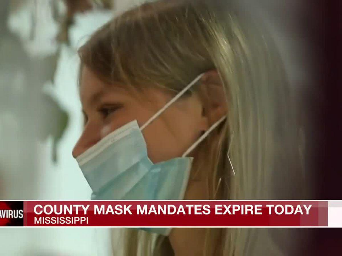 Mississippi's mask mandates set to expire Friday