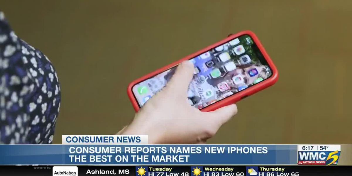 Consumer Reports rates new iPhones as best in class