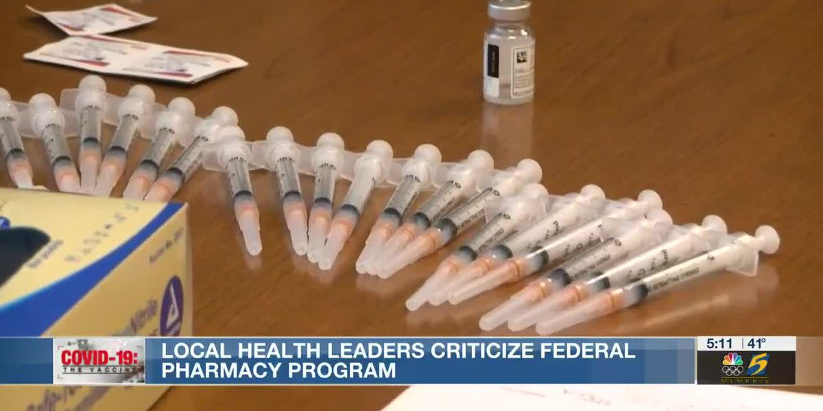 Criticism aimed at federal pharmacy partnership, pharmacies say they're on schedule