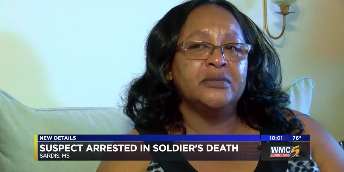 Suspect arrested in soldier's death