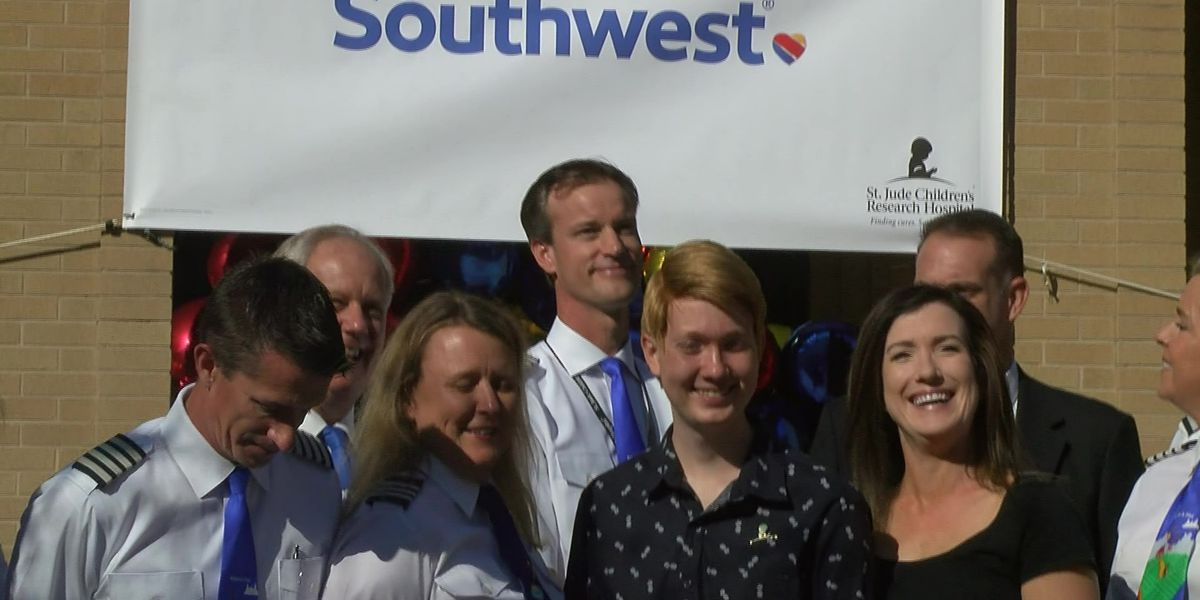 St. Jude partnership turns personal for Southwest Airlines pilot