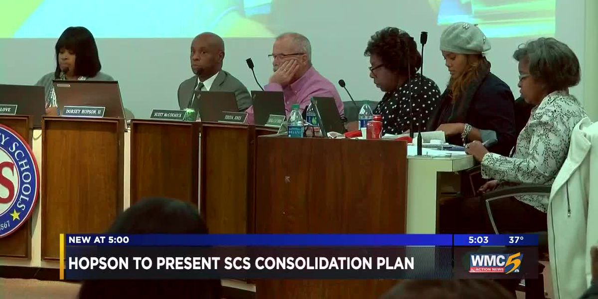 Hopson to present SCS consolidation plan at Tuesday's meeting