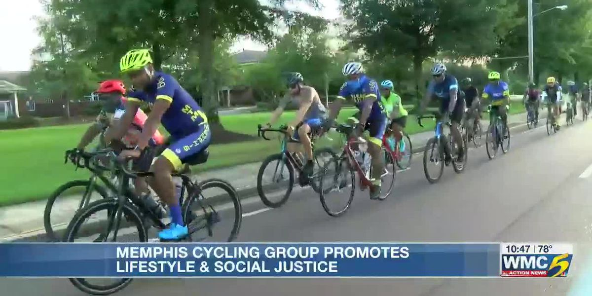 Memphis cycling group promotes social justice and healthy lifestyle for Black community
