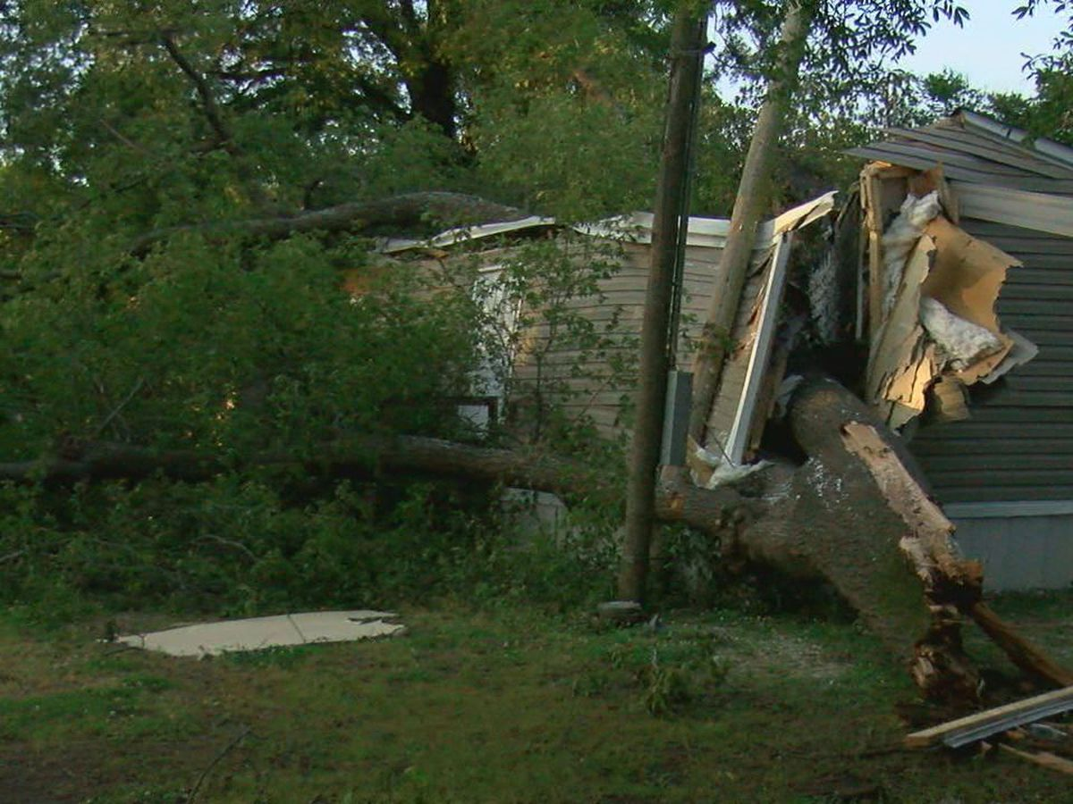 Earle woman's home destroyed in wind storm