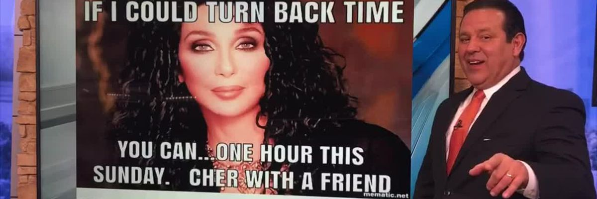 Why we turn back time this weekend
