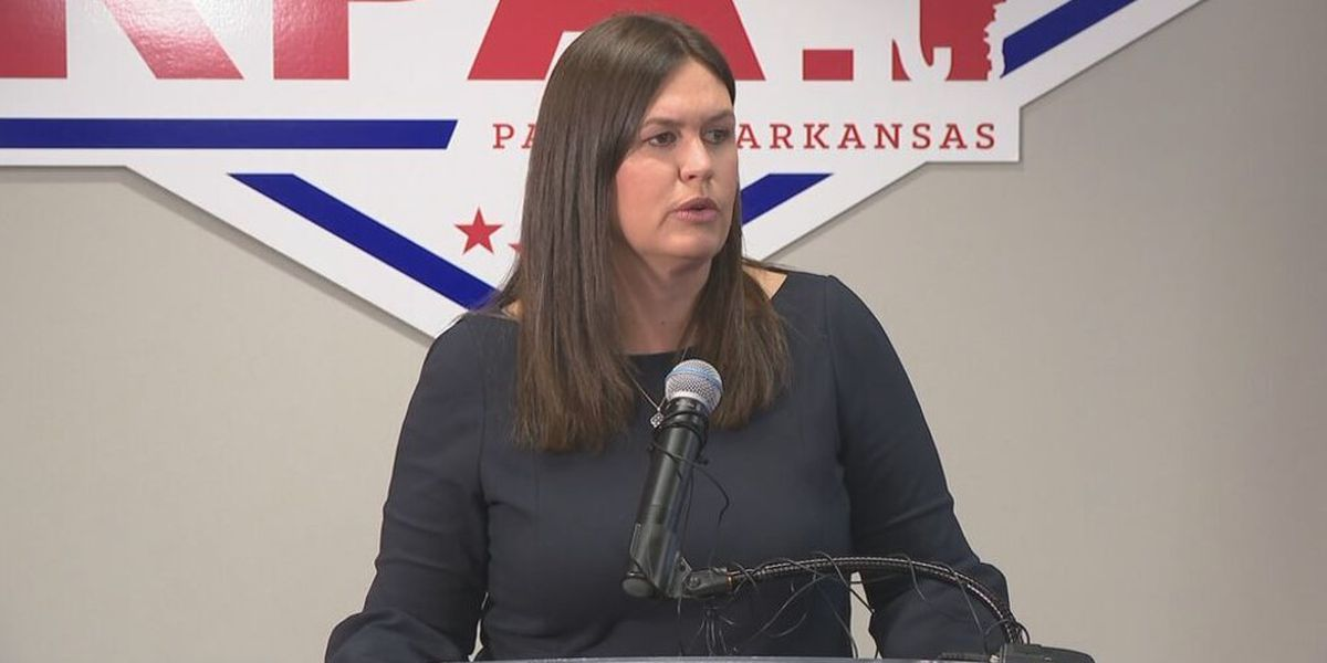 Sarah Huckabee Sanders jumps into Arkansas governor's race