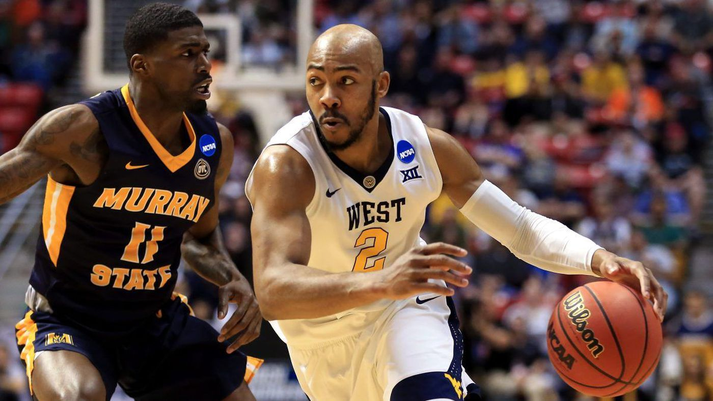 5cc6891c5b8 Jevon Carter (right) plays against Murray State (Source  NBC Sports via 2018