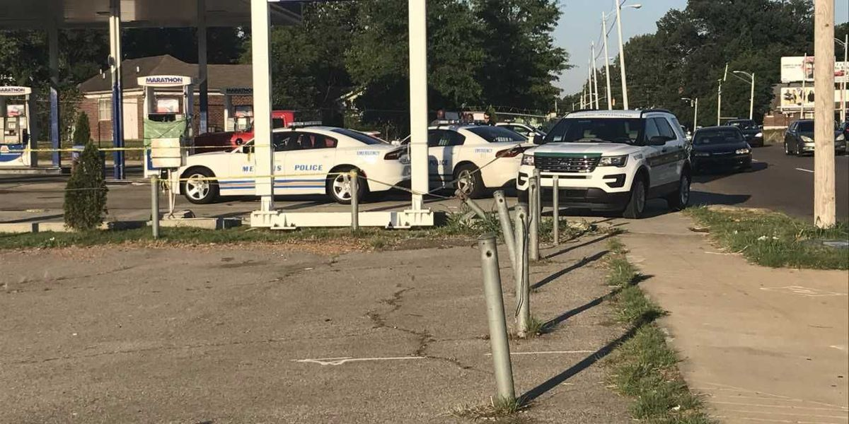 Man found dead in vehicle at gas station