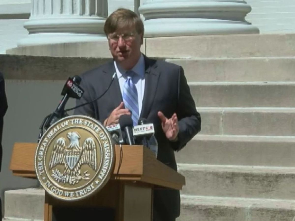 Governor Reeves discusses latest efforts to combat COVID-19 in Miss.