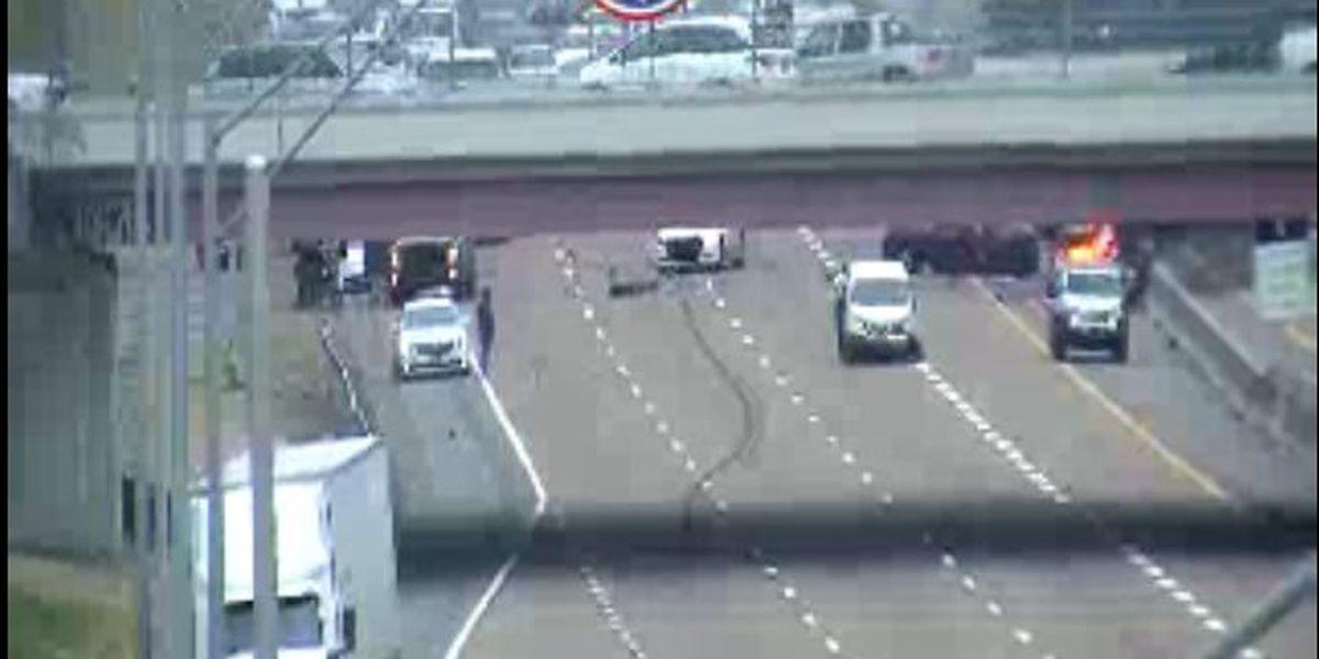 Children hurt in fiery crash on I-55 in Memphis