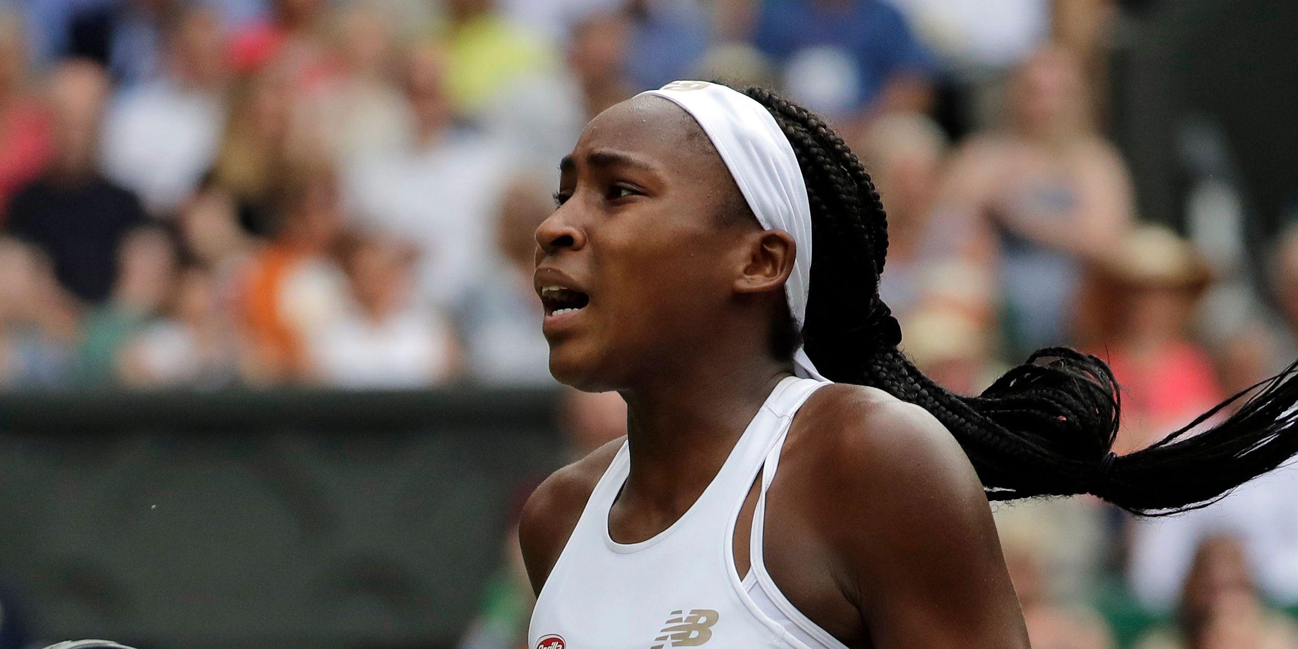 Coco Gauff loses at Wimbledon, while Williams wins again
