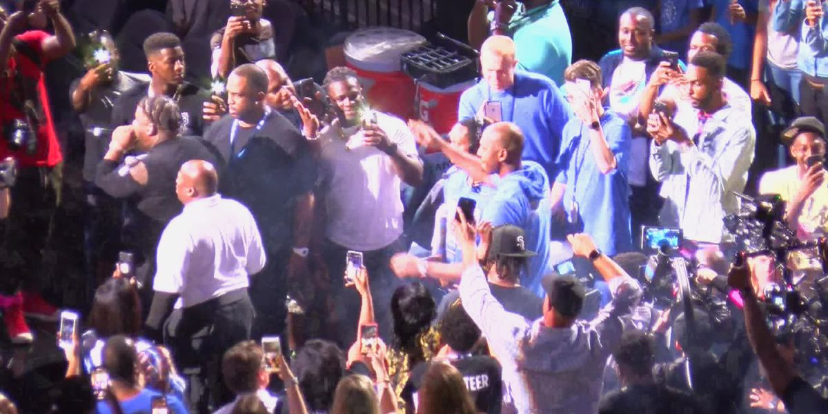 Memphis Madness included local rappers, No. 1 overall recruit & a hometown hero as head coach