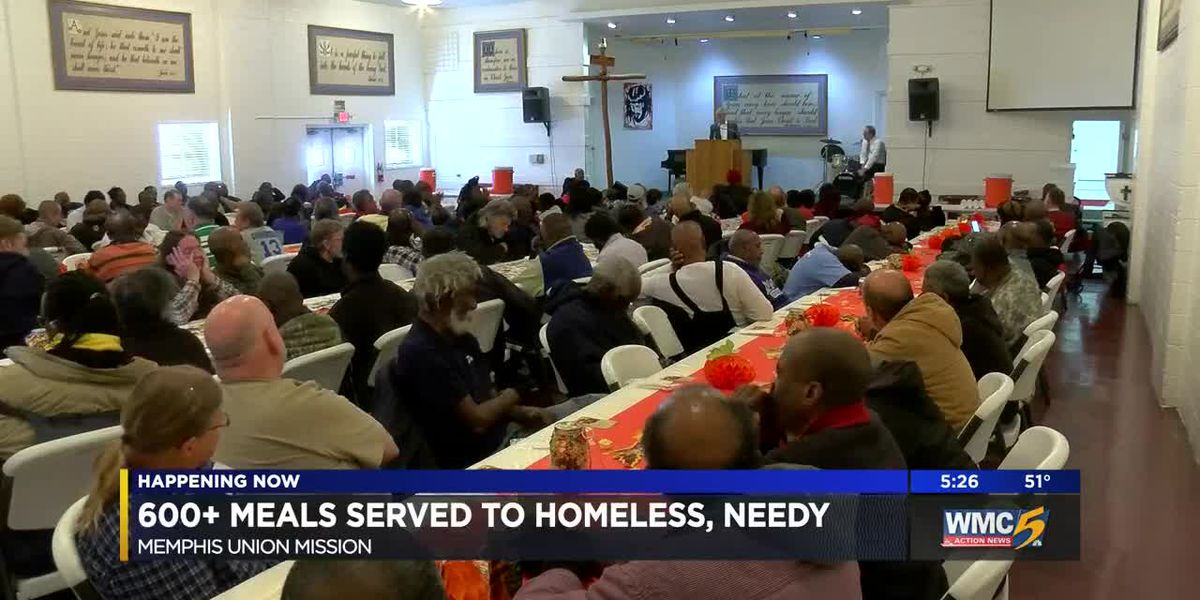 Union Mission serves more than 600 meals to local needy