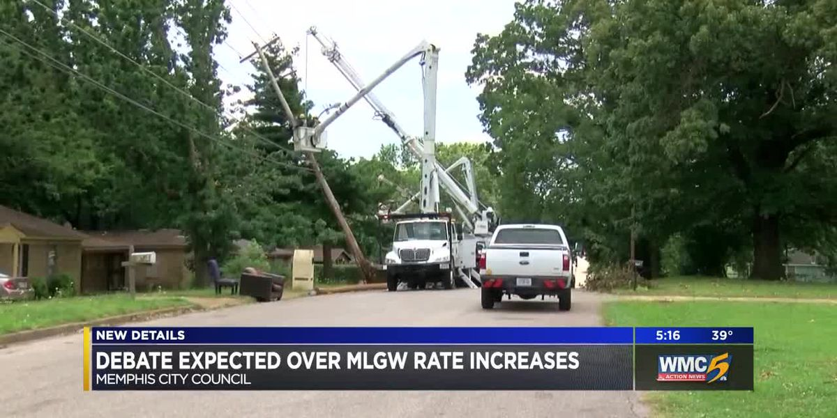 Debate expected over MLGW rate hike