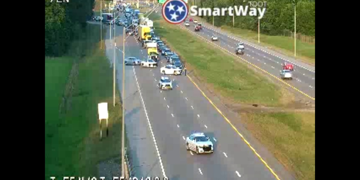 Woman injured in shooting on I-55 at I-240