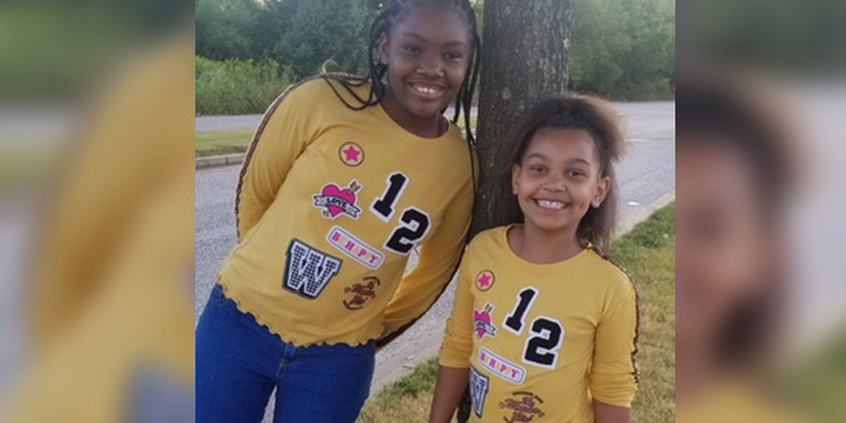 Sisters missing from foster home, police say