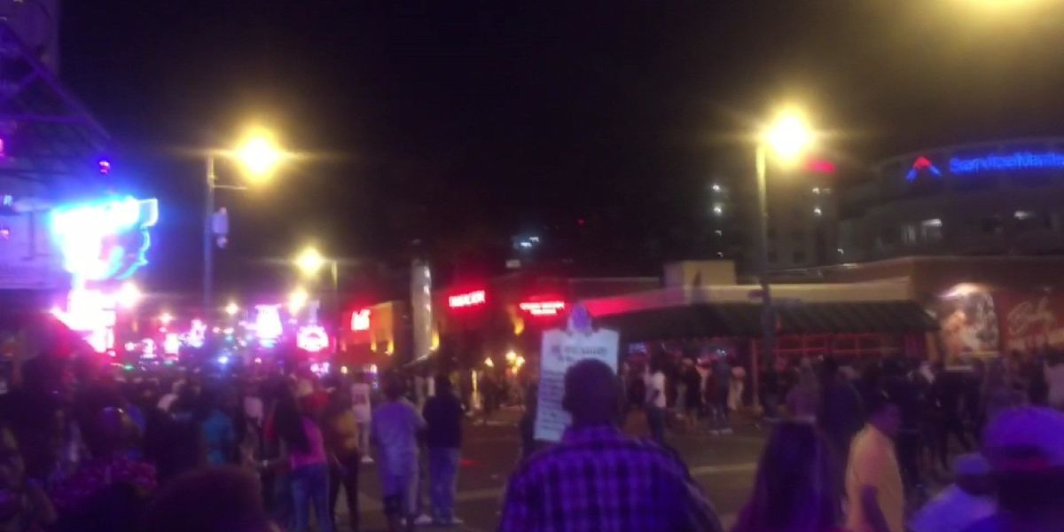 Fireworks cause panic on Beale Street