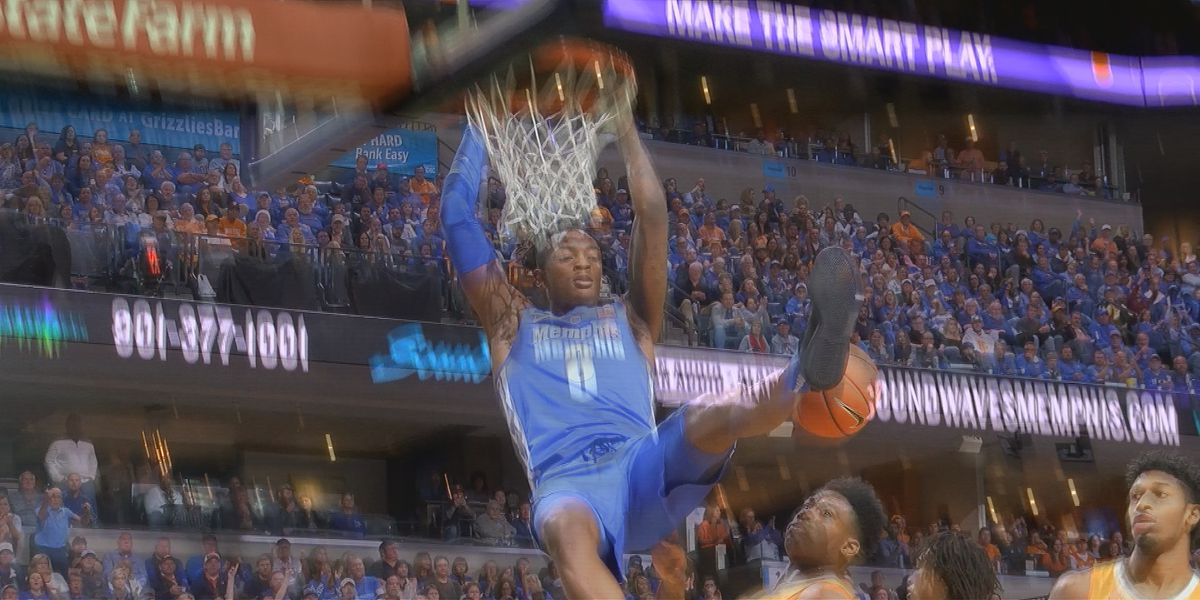 Memphis falls to No. 3 Tennessee 102-92