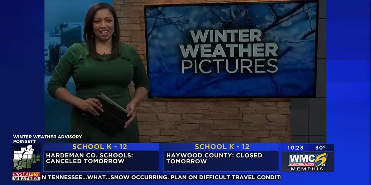 Winter weather pictures