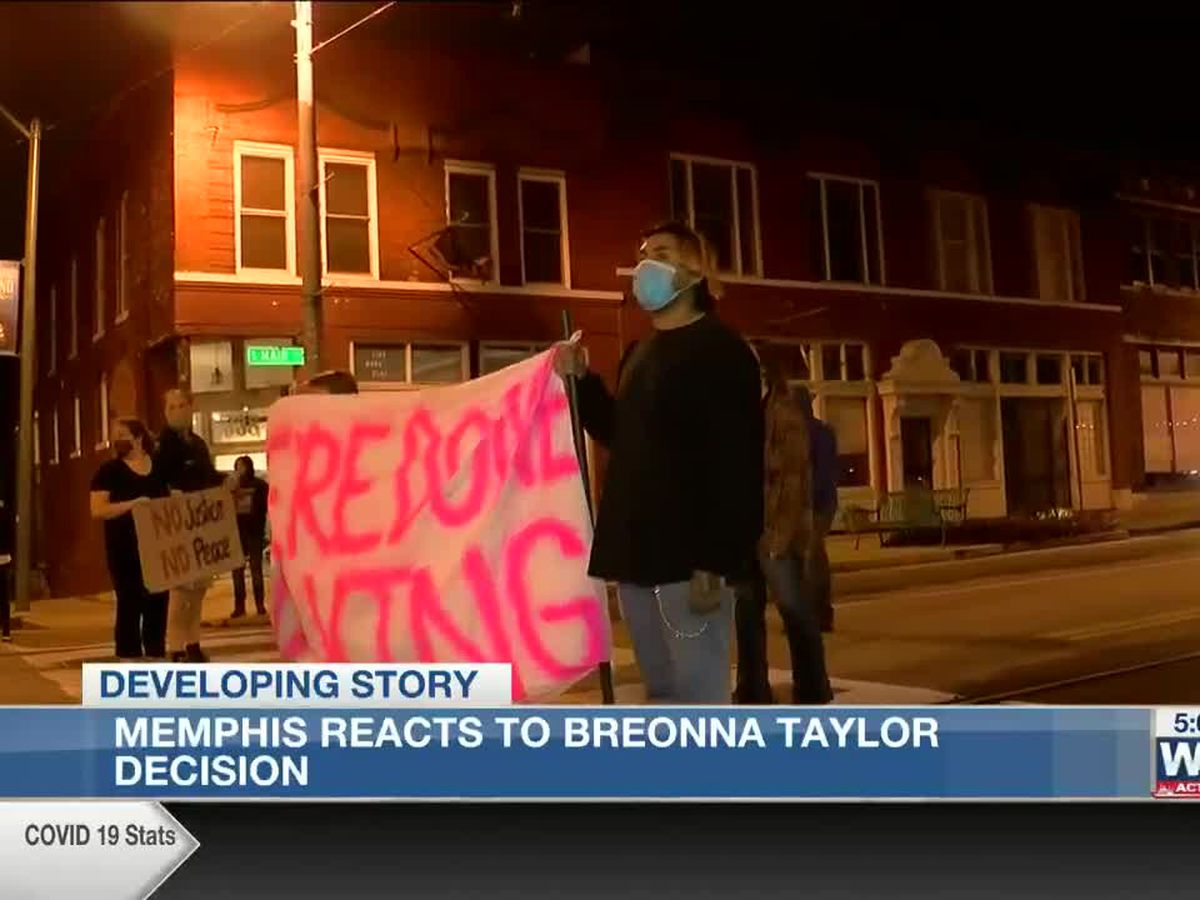 Ruling in death of Breonna Taylor sparks protests in Memphis