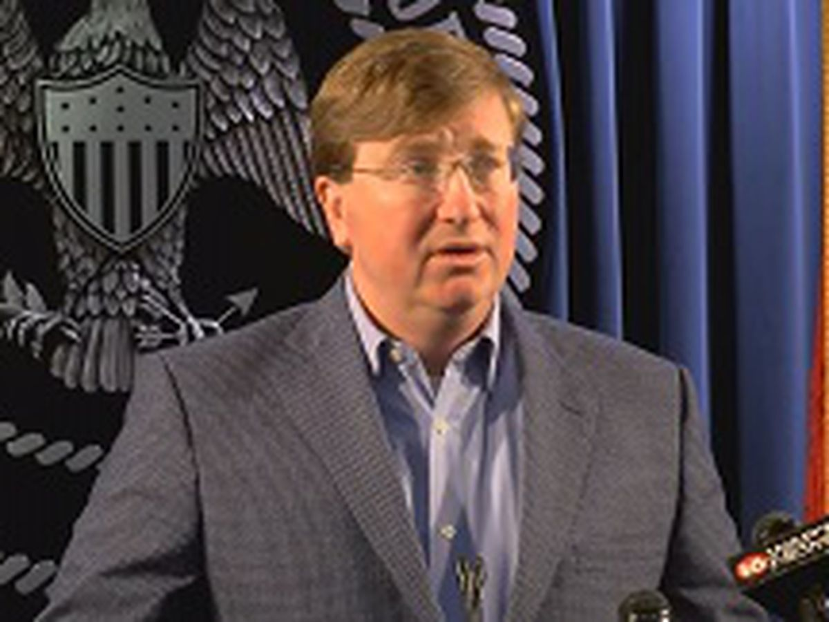 Gov. Tate Reeves discussing changes to improve safety within corrections department