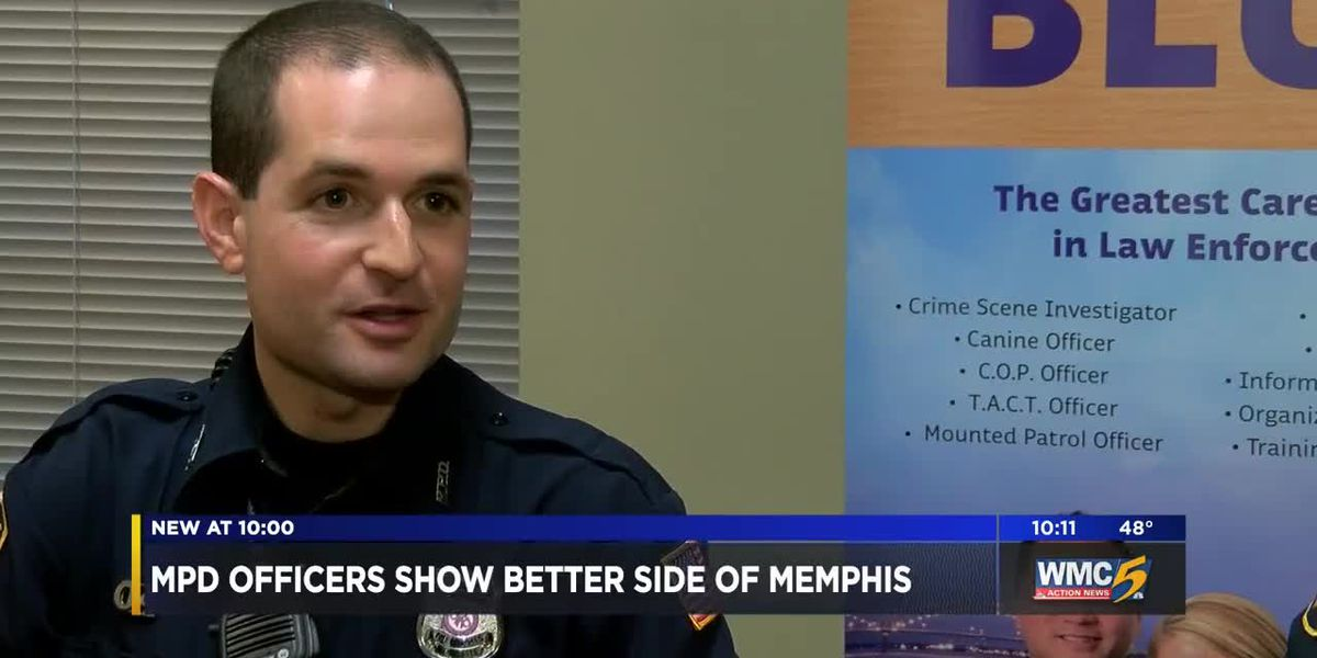 MPD officers show robbery victims a better side of Memphis