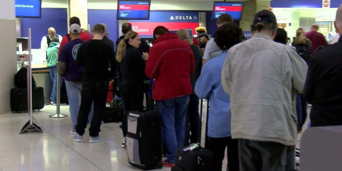 Bride, groom trying to get to wedding after flight delays in Atlanta
