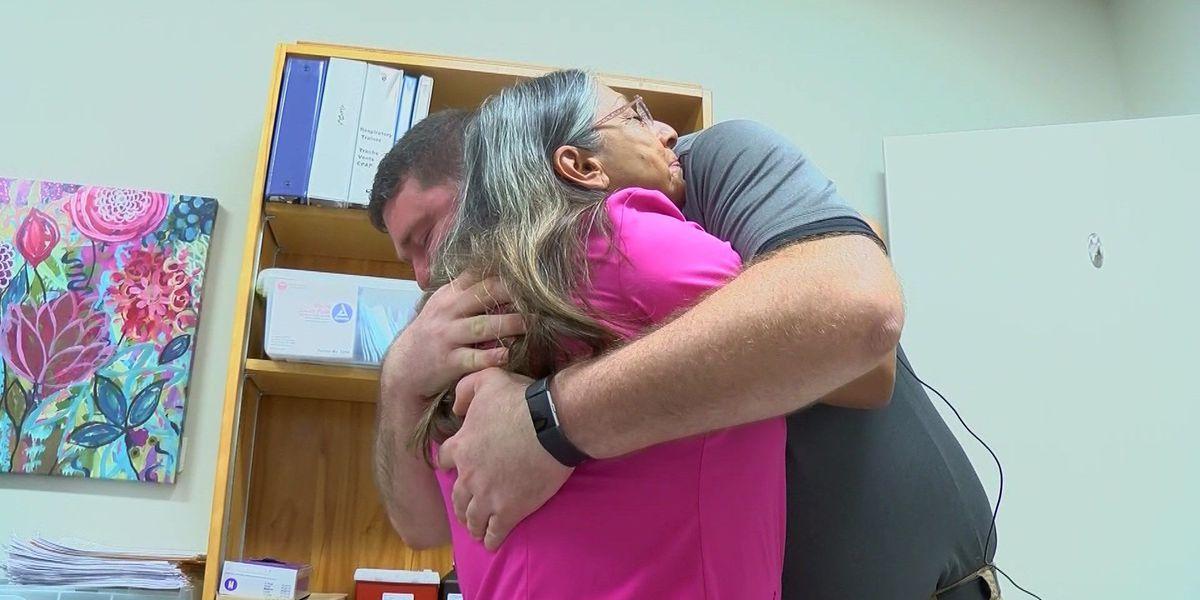 Millington nurse saves coworker