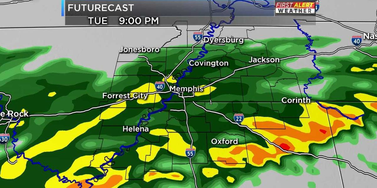 FIRST ALERT: Several chances for rain this week