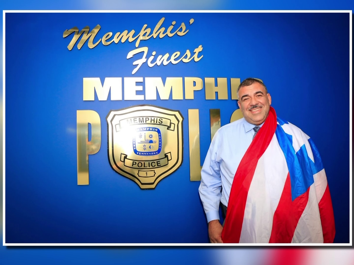 Memphis lieutenant attributes his success to his Hispanic heritage