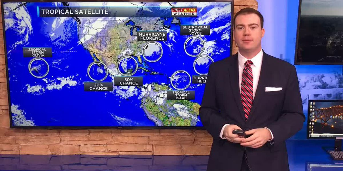 FIRST ALERT: Four named storms now churning in the Atlantic Ocean