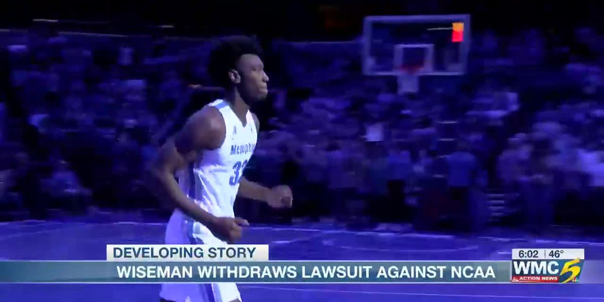Wiseman withdraws lawsuit against NCAA