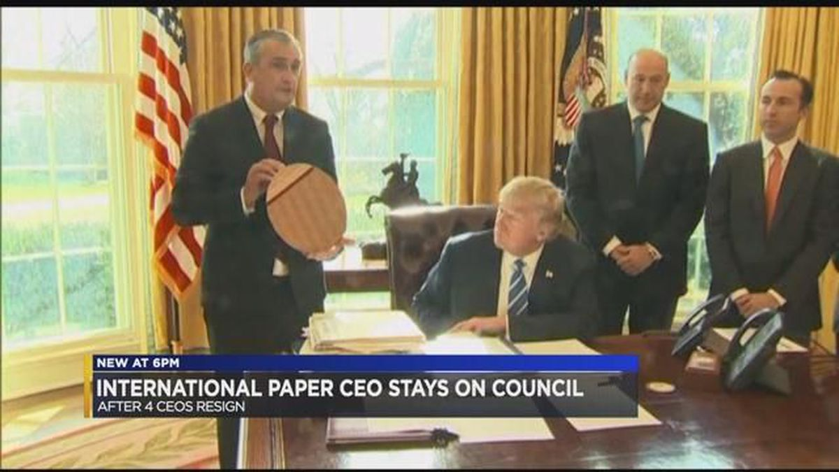 CEOs leave Trump's manufacturing council, International
