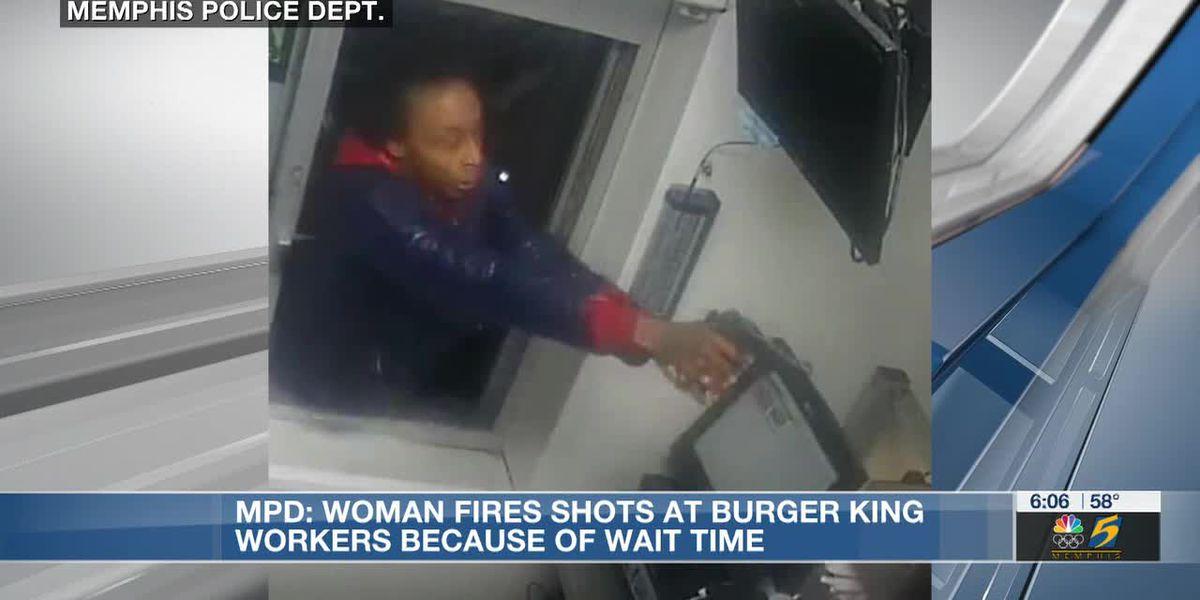 Woman charged with attempted murder, accused of shooting into Burger King drive-thru window